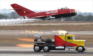Jet Powered Truck